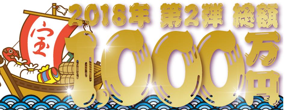 JCBリボ・分割・スキップで総額1,000万円 2018年 第2弾