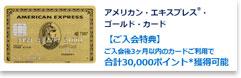 アメックス・ゴールドカード公式サイト