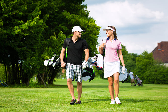 ゴルファー保険が自動付帯