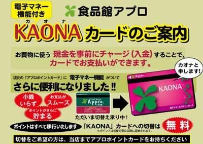 KAONA(カオナ)カード