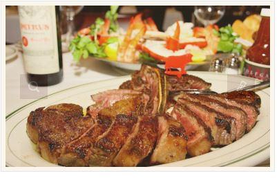 28日間熟成させたお肉を使ったステーキ!