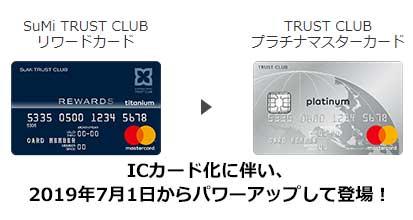 2019年7月1日新登場!TRUST CLUB プラチナマスターカードの特徴