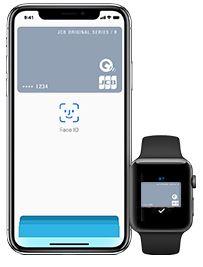 電子マネーはQUICPayが利用可能!ApplePayにも対応