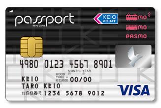 京王沿線なら京王パスポートPASMOカードVISA
