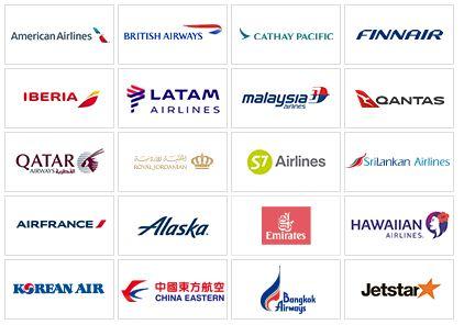 提携航空会社特典航空券