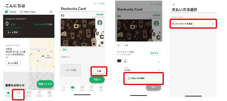 デジタルカードのチャージ方法1