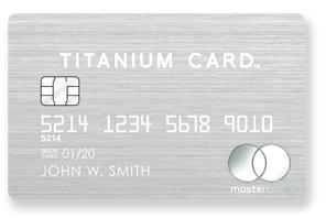 ラグジュアリーカードのチタンカード