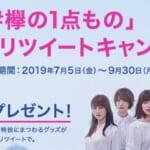 欅坂ファン必見!イオン#欅の1点もの キャンペーン実施中!【2019年9月30日まで】