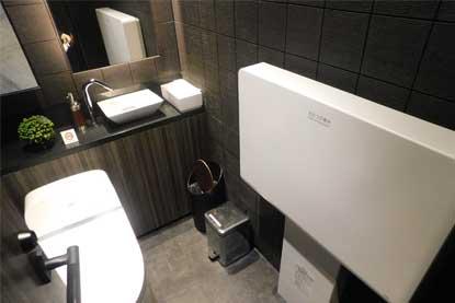 銀座プレミアムラウンジのトイレ