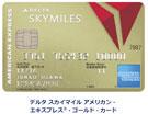 デルタスカイマイル・アメックス・ゴールドカード公式サイト