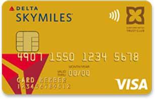 デルタスカイマイル TRUST CLUB ゴールドVISAカードの特徴