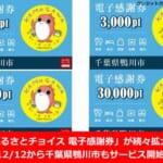 「ふるさとチョイス電子感謝券」が続々拡大中!12/12から千葉県鴨川市もサービス開始!