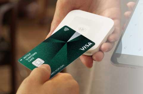 Visaのタッチ決済を全てのカードに採用!
